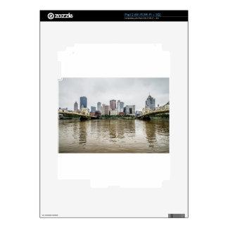 steel city skyline decal for the iPad 2