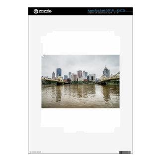 steel city skyline iPad 3 skins