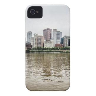 steel city skyline iPhone 4 case