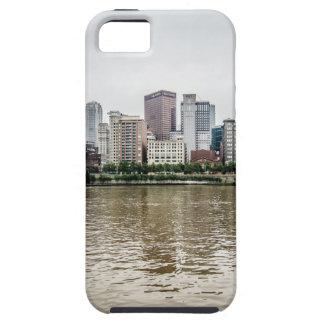 steel city skyline iPhone 5 case