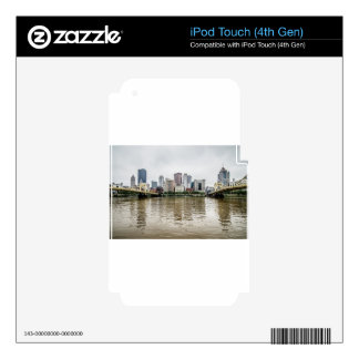 steel city skyline iPod touch 4G decal