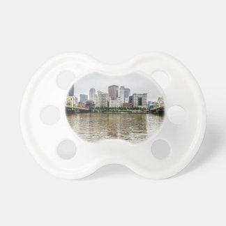 steel city skyline pacifier
