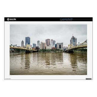 """steel city skyline skins for 17"""" laptops"""