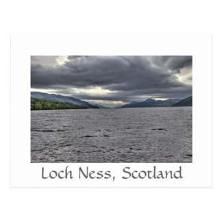 Steel Clouds of Loch Ness Postcard