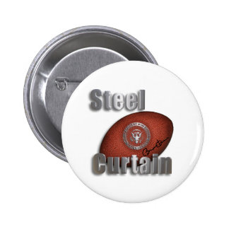 Steel Curtain Super Bowl Support, President Obama Buttons