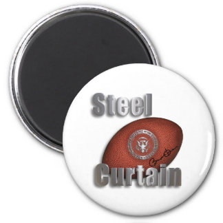 Steel Curtain Super Bowl Support, President Obama Magnet