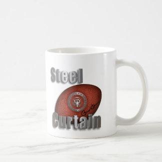 Steel Curtain Super Bowl Support, President Obama Classic White Coffee Mug