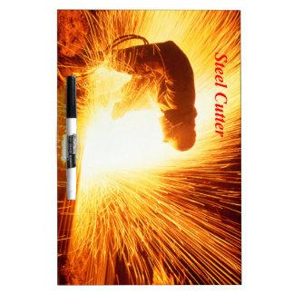 Steel Cutter Dry-Erase Board