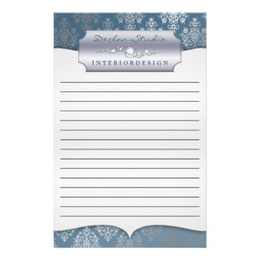 Steel Dashing Damask Lined Business Stationary Stationery