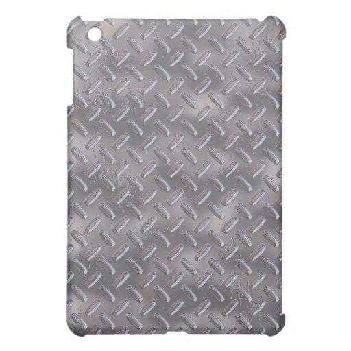 Steel Diamond Plate iPad Mini Case