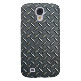 Steel diamond plate pattern galaxy s4 cover