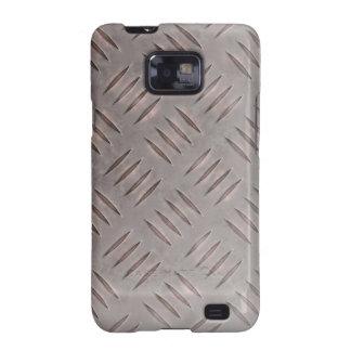 Steel Diamond Plate Texture Samsung Galaxy S2 Covers