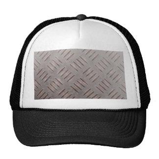 Steel Diamond Plate Texture Hats