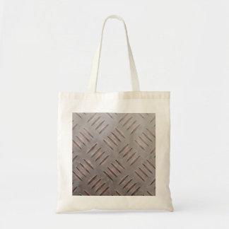 Steel Diamond Plate Texture Tote Bag
