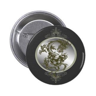 Steel Dragon Button
