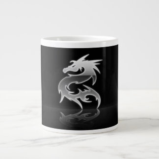 Steel Dragon Giant Coffee Mug