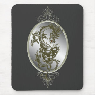 Steel Dragon Mouse Pad