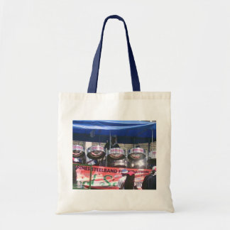 Steel Drum Band playing in Carnival Tote Bag