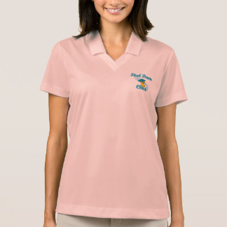 Steel Drum Chick #3 Polo Shirt