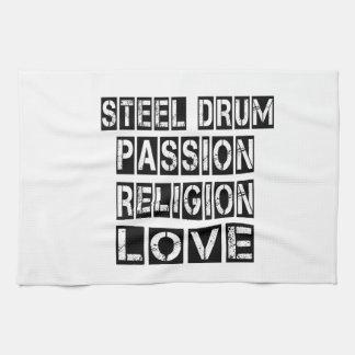 Steel drum Designs Hand Towel