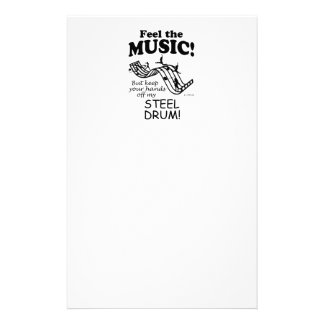 Steel Drum Feel The Music Stationery