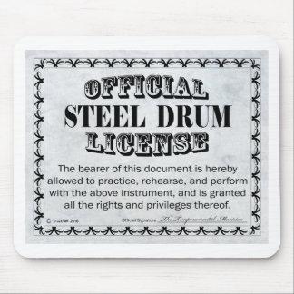 Steel Drum License Mouse Pad