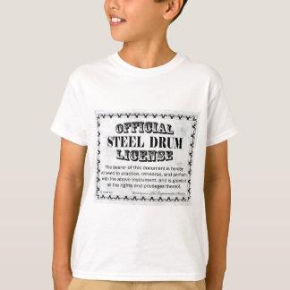 Steel Drum License T-Shirt