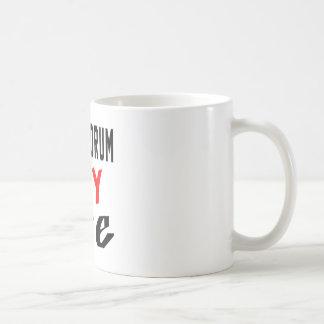 Steel drum my life classic white coffee mug