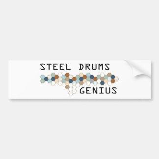 Steel Drums Genius Bumper Stickers