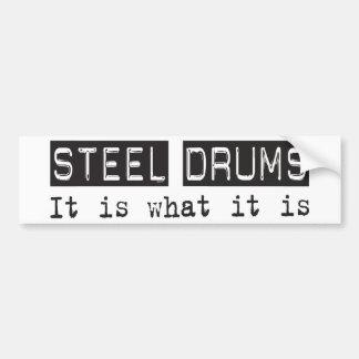 Steel Drums It Is Bumper Stickers