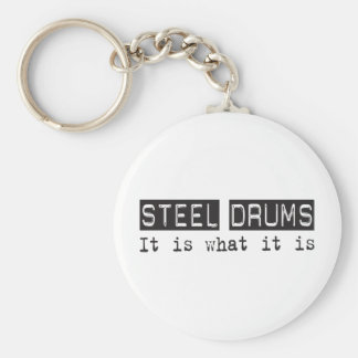 Steel Drums It Is Keychain