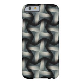Steel Fan Breeze Abstract Weave Pattern iPhone 6 Case