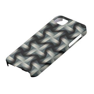 Steel Fan Breeze Abstract Weave Pattern iPhone SE/5/5s Case