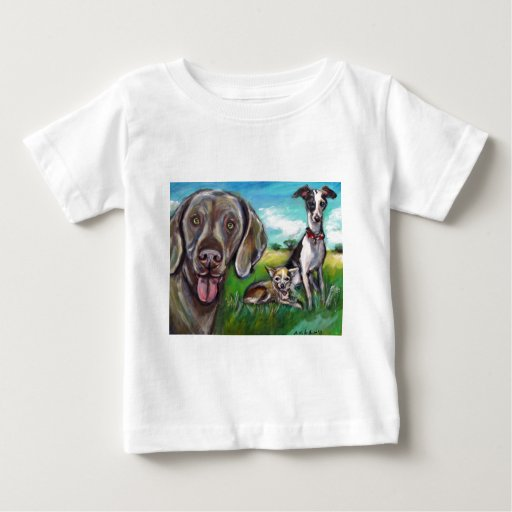 Steel, Fergie, & Rocket Baby T-Shirt
