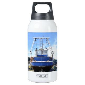 Steel Fishing Boat Insulated Water Bottle