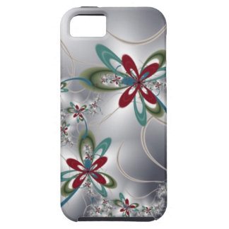 Steel Flowers iPhone 5 Covers