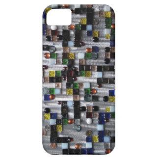 steel glass Fractal iPhone SE/5/5s Case