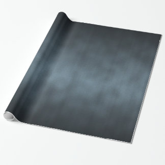 Steel Gray Gothic Ombre Background Art Wrapping Paper