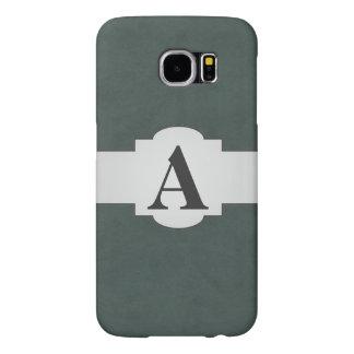 Steel Gray Green Color Velvet Custom Home Casino Samsung Galaxy S6 Case