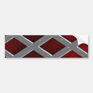 Steel Grid Over Lava Bumper Sticker