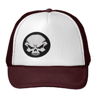 Steel-Grit Board Cap-SKULL LOGO ONLY Trucker Hat