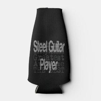 Steel Guitar Player Extraordinaire Bottle Cooler