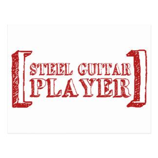 Steel Guitar Player Postcards