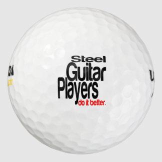 Steel Guitar Players Do It Better Golf Balls