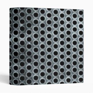 Steel Holes Metal Mesh Pattern Binder