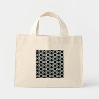Steel Holes Metal Mesh Pattern Mini Tote Bag