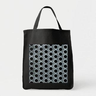 Steel Holes Metal Mesh Pattern Tote Bag
