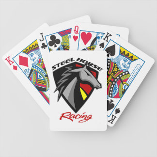 Steel Horse Racing Playing Cards