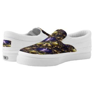 Steel Magnolia Zipz Slip Shoes-US Men 4-US Women-6 Printed Shoes