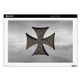 "Steel Maltese 416 17"" Laptop Skin"